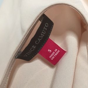 Vince Camuto Tops - Vinace Camuto Pink Peplum Top